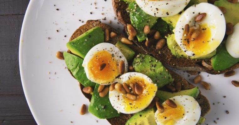 Сандвич с яйца за закуска