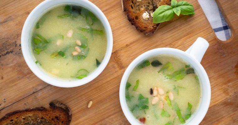 Картофена супа с босилек